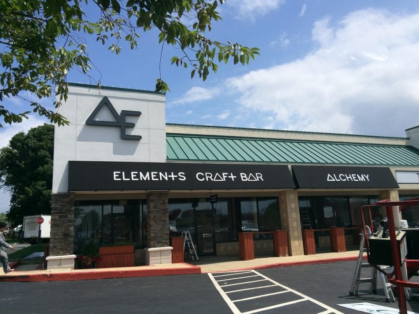 Alchemy Elements East West Sign Group